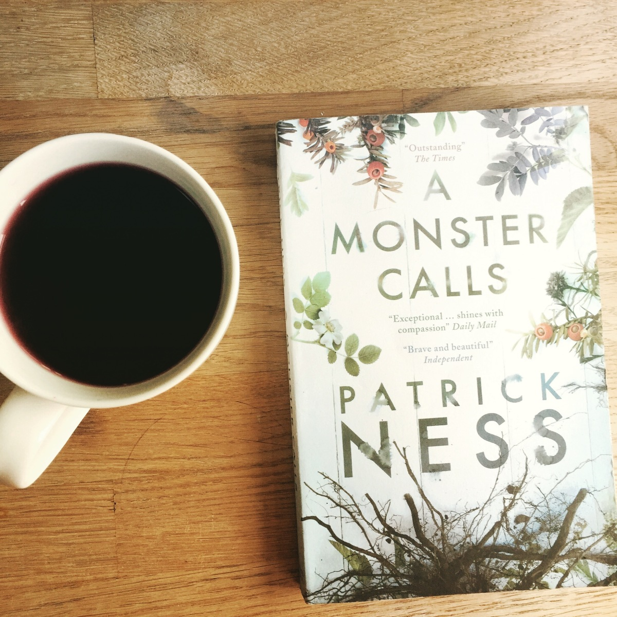 book review a monster calls