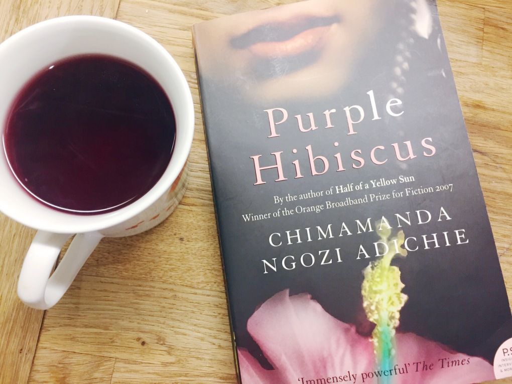 Review Wednesday Purple Hibiscus Always In The Write